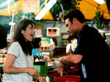 Catherine Keener and Liev Schreiber, in 'Walking and Talking'
