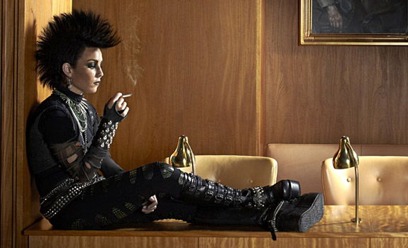 The girl who kicked the hornets nest end of the for Noomi rapace the girl with the dragon tattoo