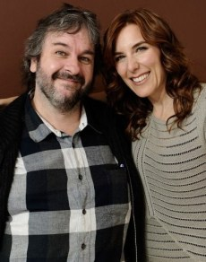 Producer Peter Jackson and director Amy Berg