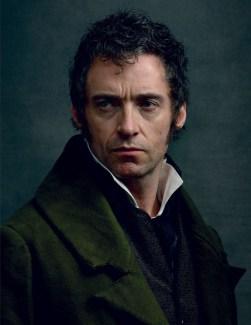 Hugh Jackman, as Jean Valjean