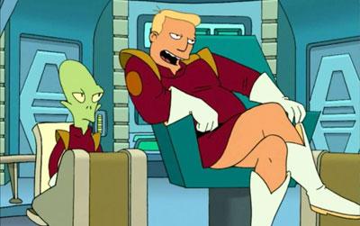 Zapp Brannigan Futurama